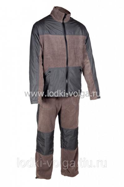 """Костюм """"Пикник-Люкс"""", цвет Серый, ткань Флис размер 44-46"""