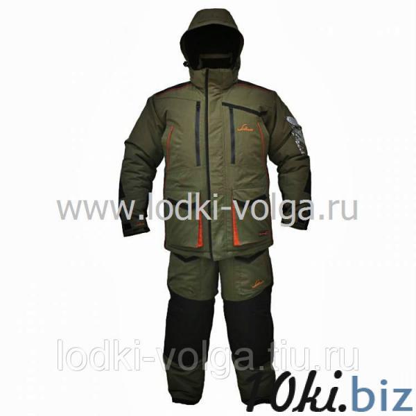 Костюм Siberia, цвет хаки/черный, ткань Taslan, размер 52-54 Костюмы для охоты и рыбалки в Москве