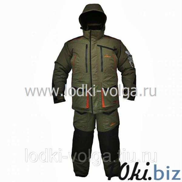 Костюм Siberia, цвет хаки/черный, ткань Taslan, размер 52-54 Костюмы для охоты и рыбалки на рынке Атлант в Ростове на Дону