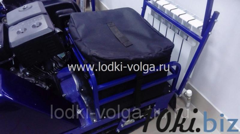Кофр на буксировщик Бурлак-М (переднеприводный длинный) Мотобуксировщики в России