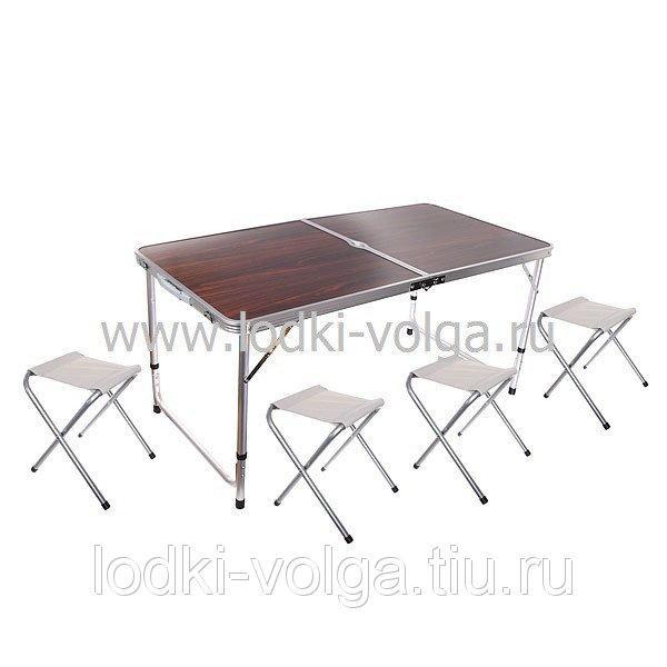 Набор кемпинговый, мод.8812 (стол+ 4 стула)