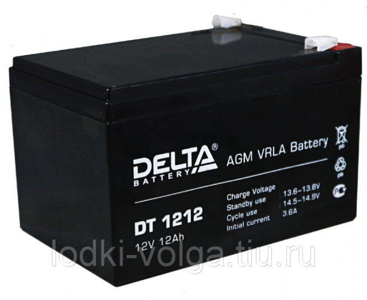 Аккумулятор Delta (DT1212(12В,12Ah))