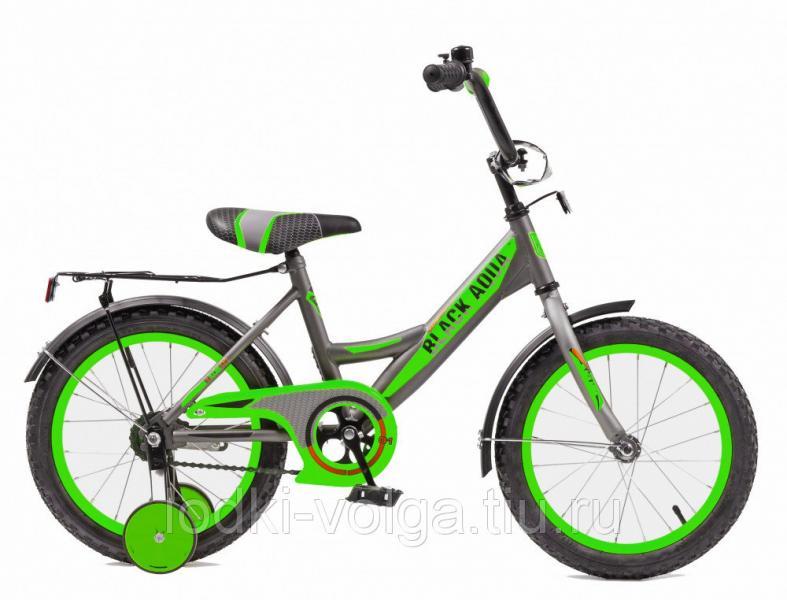 Велосипед BlackAqua 1601-T (серо-зеленый)