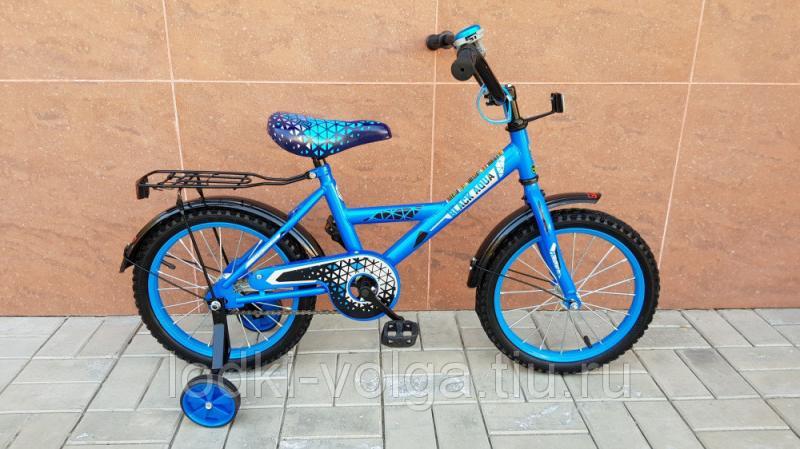 Велосипед BlackAqua 1602 (синий)