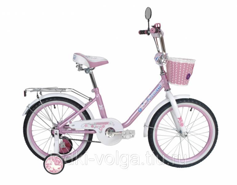 """Велосипед BlackAqua Princess 16"""" розовый-белый"""