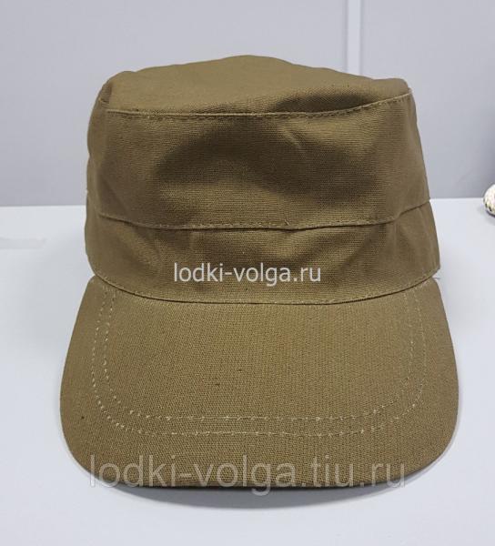 Кепка Охотник (цвет Хаки Cotton)  размер 58-60