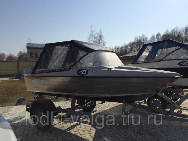 """Комплект - Лодка """"Бестер 400"""" капотная, алюминиевый корпус."""