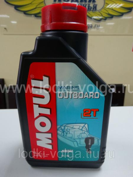 Масло моторное 2-х тактное MOTUL Outboard 2Т для подвесных  моторов, минеральное TC-W3 1 л. (106610)