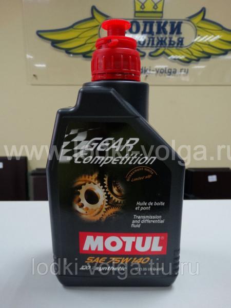Масло Трансмиссионное MOTUL Gear Competition 75W140 1 л. (105779)