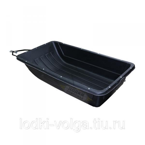 Санка-ледянка для СНЕГОХОДОВ с демпферным устройством №1 Люкс 1470*840*310