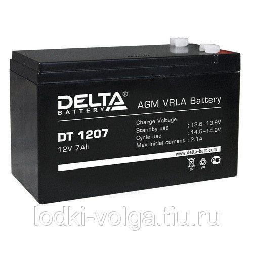 Аккумулятор Delta (DT1207(12В,7Ah))