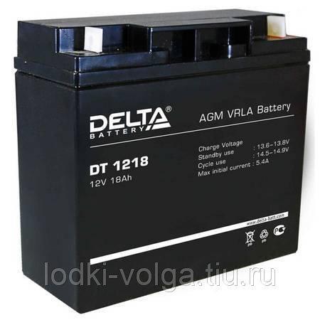 Аккумулятор Delta (DT1218(12В,18Ah))