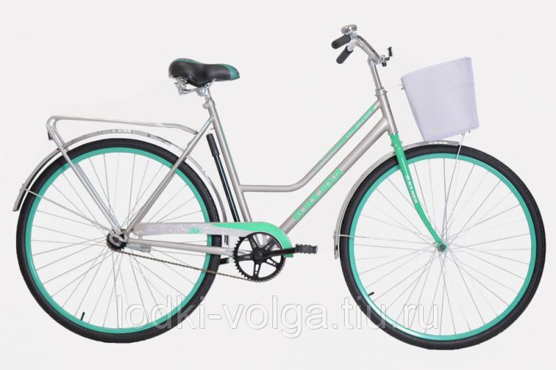 """Велосипед BA CITY 182 28"""" (серо-бирюзовый)"""