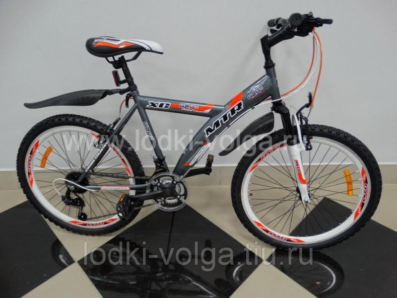 Велосипед MTR Andes V / 424 V 24'' (серебро-оранжевый)
