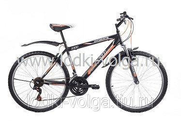 """Велосипед MTR Dynamite V / 120V 26"""" (черно-оранжевый)"""