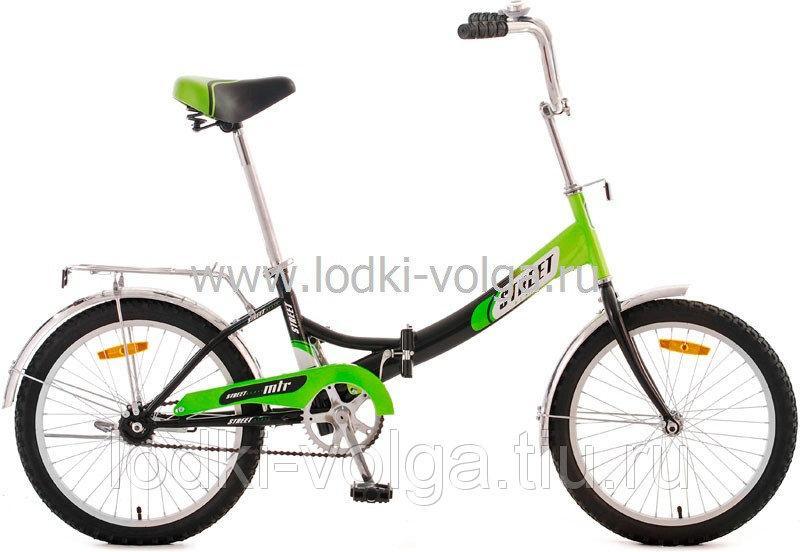 "Велосипед MTR Street Beat / 2002 20""; 1s (зеленый)"