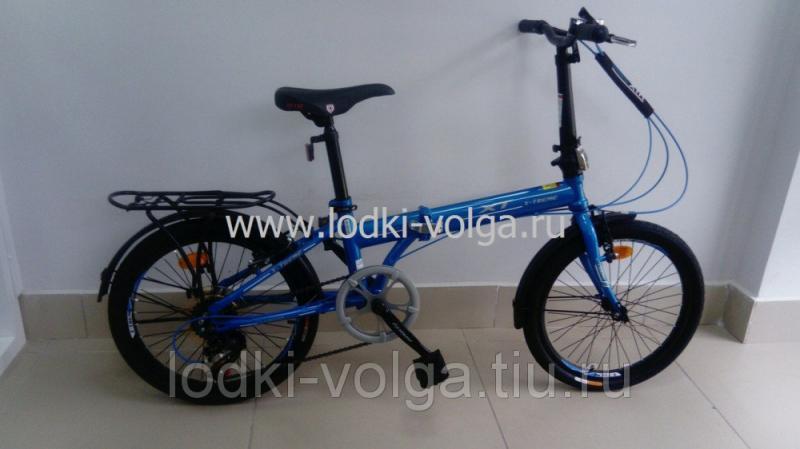 Велосипед X-TREME XT20005FD (синий)