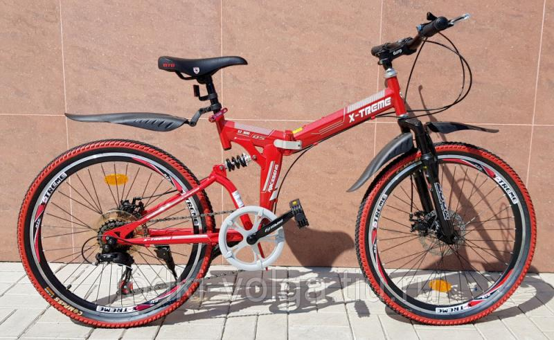 Велосипед X-TREME XT24005FD (сталь, складной)