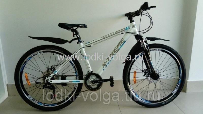 Велосипед X-TREME XT26001AL-21 (бело/синий)