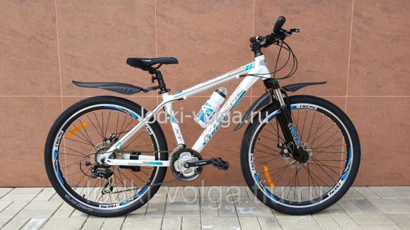 Велосипед X-TREME XT26001AL-24 (бело/синий)