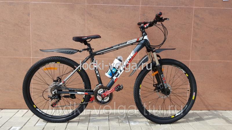 Велосипед X-TREME XT26002AL (черно/красный) 21 скорость
