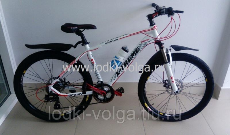 Велосипед X-TREME XT26002AL-24 (бело/красный)