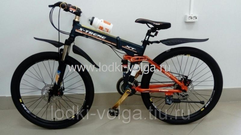 Велосипед X-TREME XT26FD (серо/оранжевый)