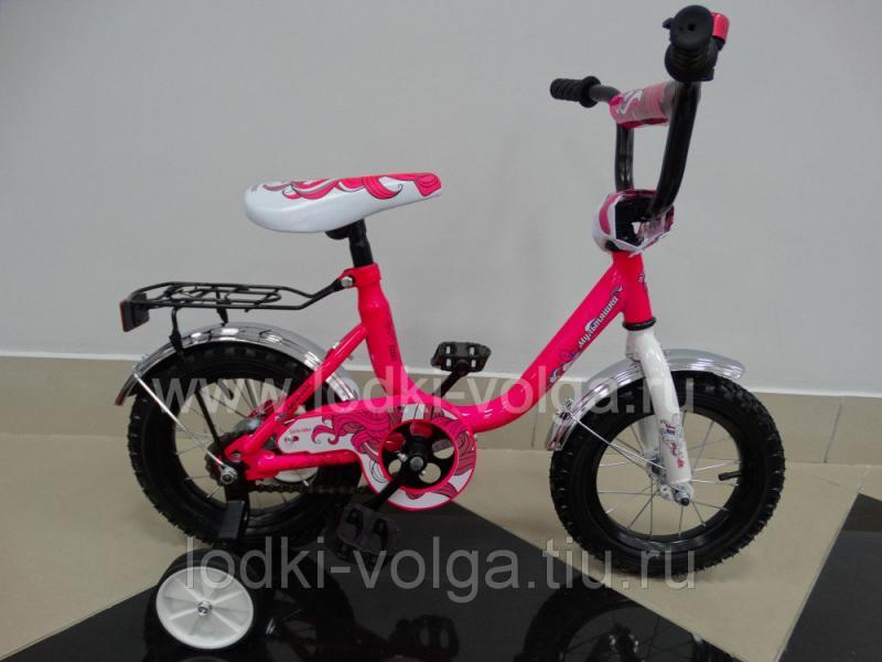 Велосипед МУЛЬТЯШКА 1203 12''; 1s (розовый)