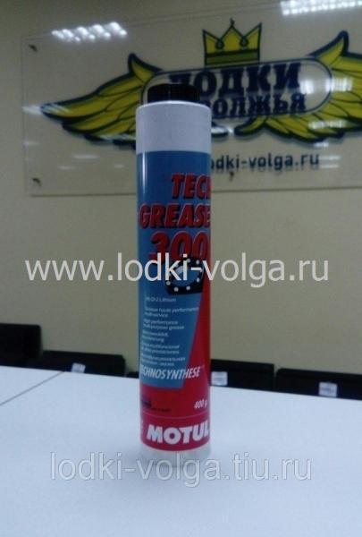 Масло смазка MOTUL Tech Grease 300 NLGI2 (зеленая) 400 мл (100897)