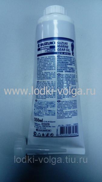 Масло Трансмиссионное MOTUL Suzuki Marine oil 90 для редуктора гребного винта 0.35 л (102401)