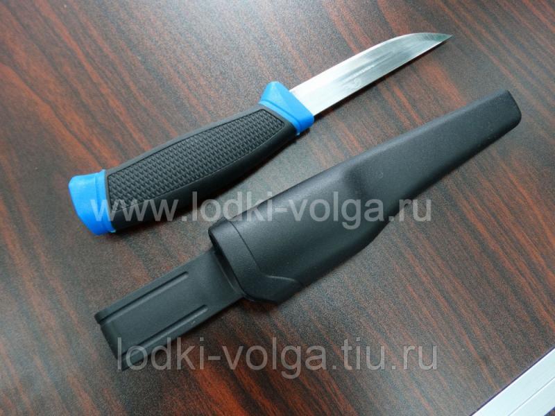 """Нож """"Чингисхан"""" (для рыбалки и туризма с ножнами, нерж.сталь)"""