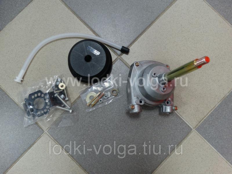 Привод рулевой 3000 с тросом 12 футов 318012 (Редуктор+трос)