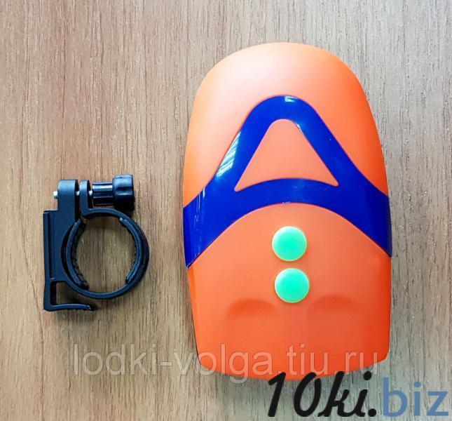 Фара-гудок велосипедная SILAPRO 3 режима, 3LED, пит.батар. 3хААА (195-019) Велосипедные фонари и отражатели в России