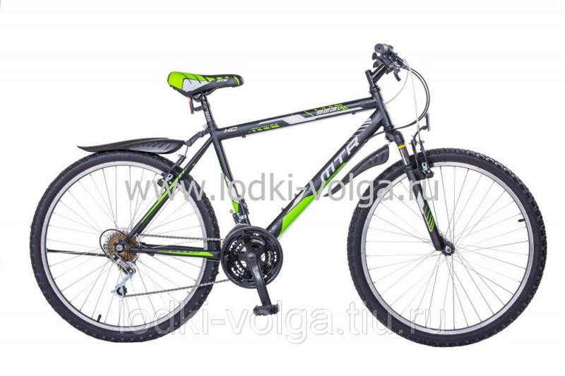 Велосипед MTR 523V 26 (черный-зеленый неон)