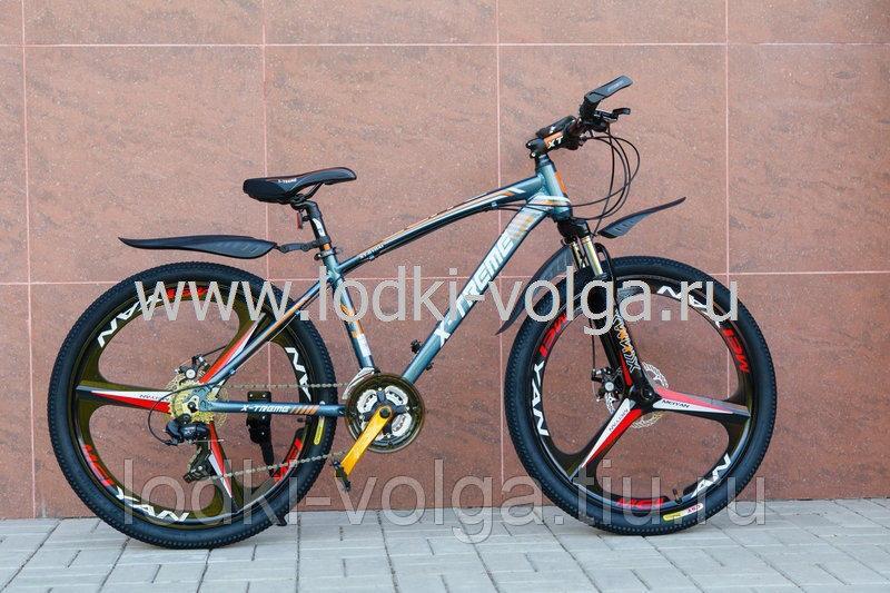 Велосипед X-TREME XT26006WAL-24 (серо/оранжевый)