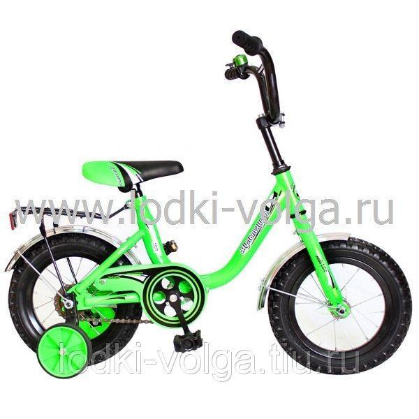 Велосипед МУЛЬТЯШКА 1204 12''; 1s (зеленый)