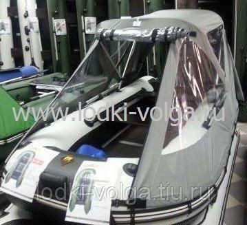 Тент ходовой кабриолет Ривьера 3200 серый