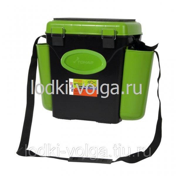 """Ящик зимний """"FishBox"""" 10л, односекционный, зеленый"""