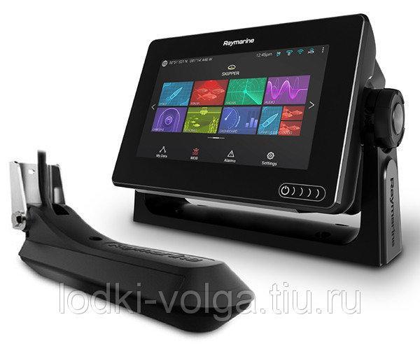 Эхолот/картплоттер Raymarine AXIOM 7 RV с технологией сканирования RealVision 3D