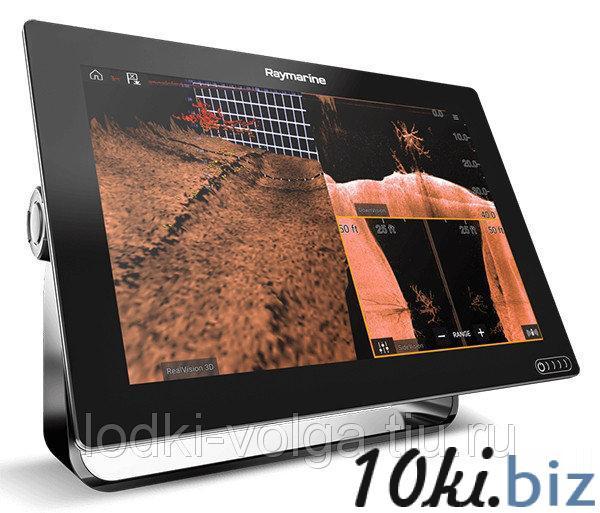 Эхолот/картплоттер Raymarine AXIOM 9 RV с технологией сканирования RealVision 3D Эхолоты и камеры в России