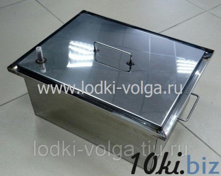 Коптильня, Эконом т.1,0 мм 400*300*200, гидрозамок, сталь 430 Коптильни, дымогенераторы в России