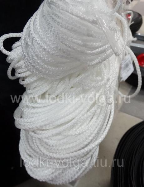 Шнур хозяйственный d5мм (100м) белый, цветной