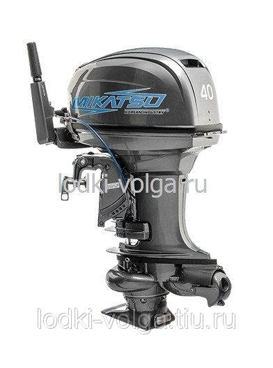 Лодочный мотор Mikatsu M40FHS с водометной насадкой