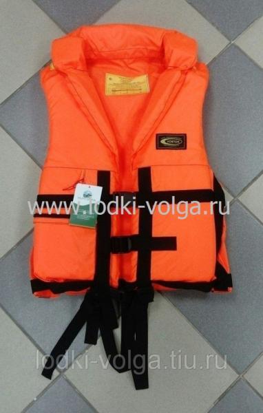 """Жилет спасательный """"ПР"""", цв.оранжевый, размер S (44-48), max 60 кг."""