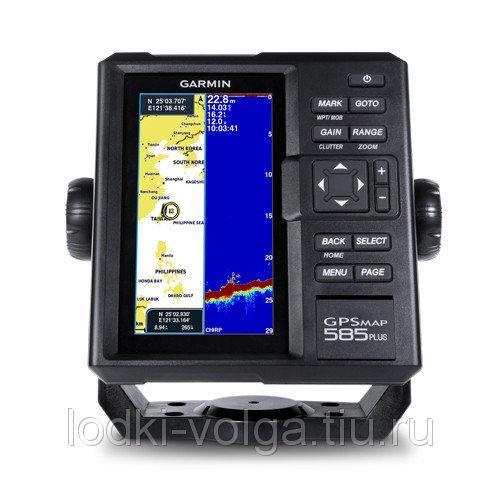 Картплоттер/эхолот GARMIN GPSMAP 585 PLUS с трансдьюсером GT20