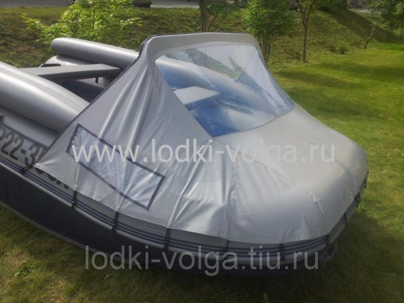 Носовой тент для лодки Флагман 400-450/DK