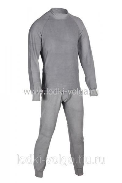 Термобелье Huntsman тк. флис серый р. 44-46 (S) -40*