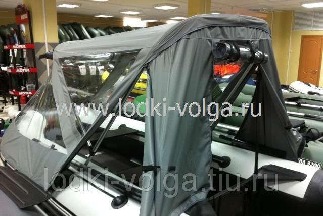 Тент ходовой кабриолет Ривьера 2900 серый