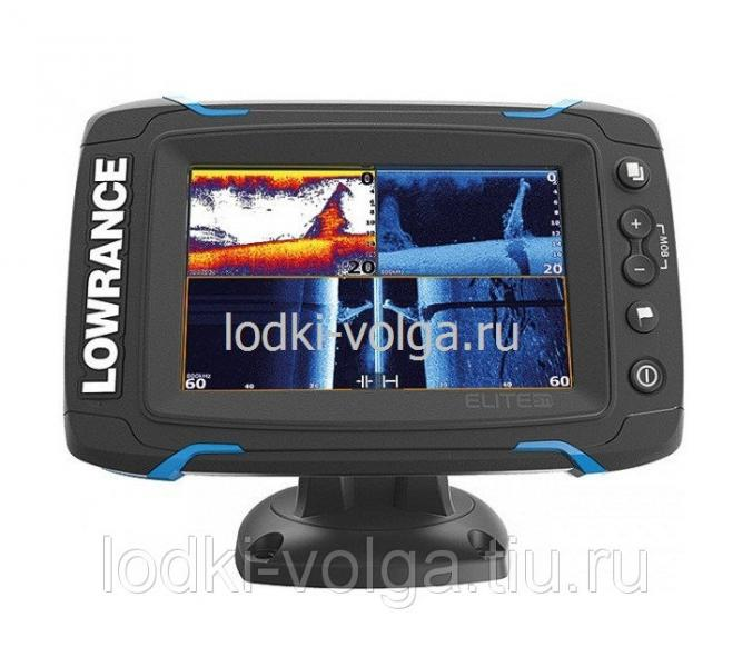 Эхолот LOWRANCE Elite-5Ti Mid/High/DownScan (000-12421-001)