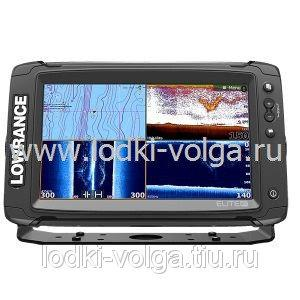 Эхолот LOWRANCE Elite-9Ti Mid/High/TotalScan (000-13274-001)